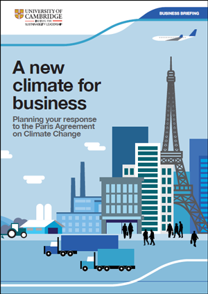 Planning your response to the Paris Agreement on Climate Change