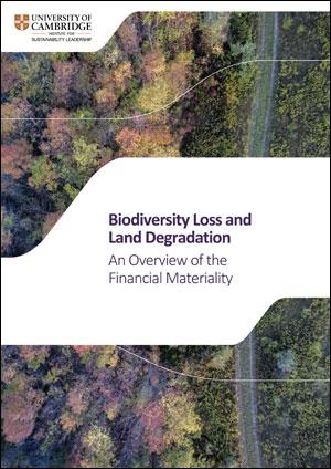 Biodiversity Loss and Land Degradation