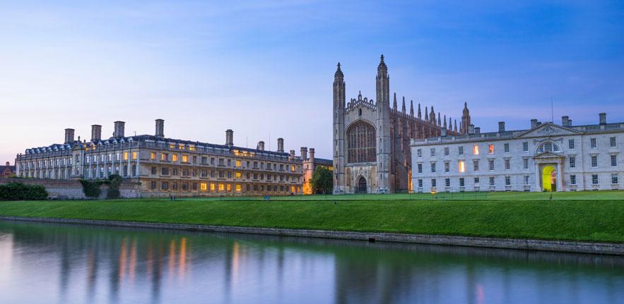 Cambridge backs