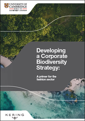 Developing a corporate biodiversity strategy