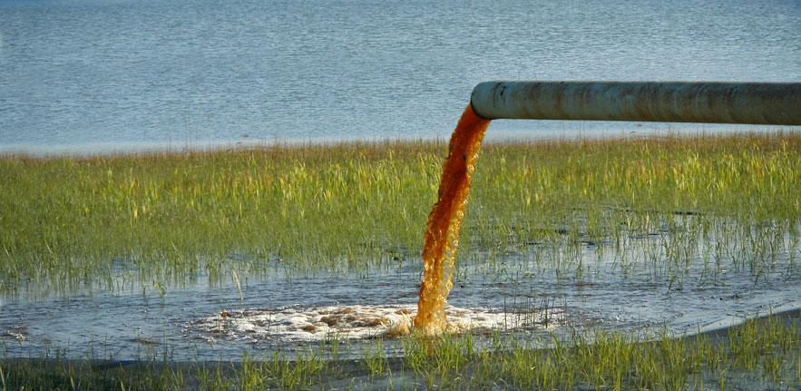 Dirty Water Flowing