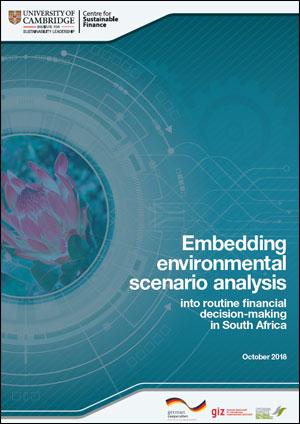 Environmental Scenario Analysis in South Africa