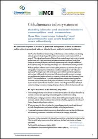 Global Insurer Statement