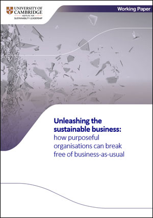 how purposeful organisations can break free of business-as-usual