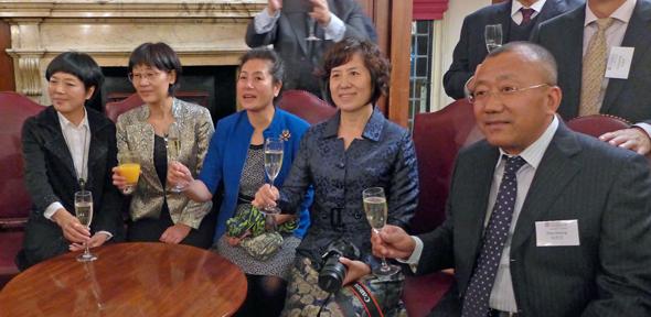 Beijing mayors reception