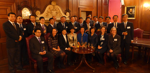 CISL welcomes Chinese delegation