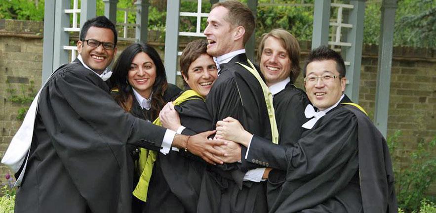 Graduation of Master's Students; photo credit Neal Mehta, MSt 2010–12