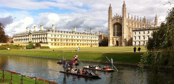 Kings College at Cambridge University