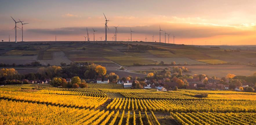 Wind turbines agriculture